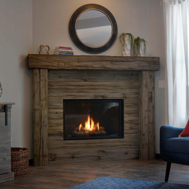 Full Surround Fireplace Mantels