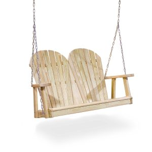Adirondack Wood Swing