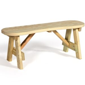 """42"""" Curved Seat Bench"""