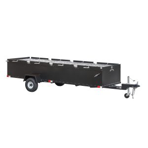 Meadow Creek BBQ144 Commercial Chicken Cooker Trailer (4 pit)