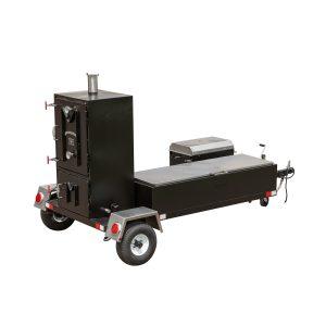 Meadow Creek BX50T Cabinet Smoker Trailer