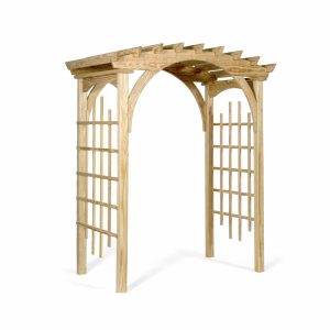 garden arbor wood