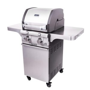 SABER Deluxe Stainless 2-Burner Gas Grill