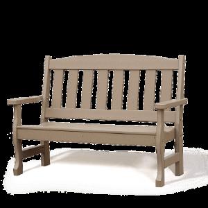 Poly English Garden Bench