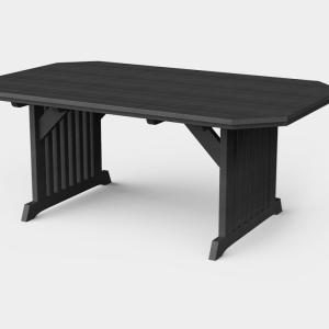 4′ x 6′ English Garden Dining Table
