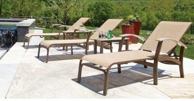 Telescope Belle Isle Sling patio furniture
