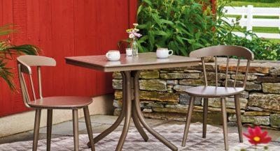 Telescope Nola Aluminum patio furniture